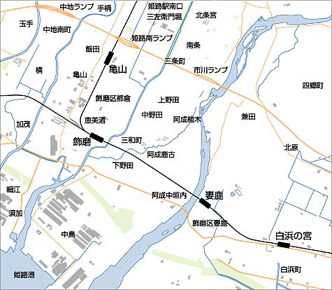 姫路南部 (白浜・四郷)・ 家島方面