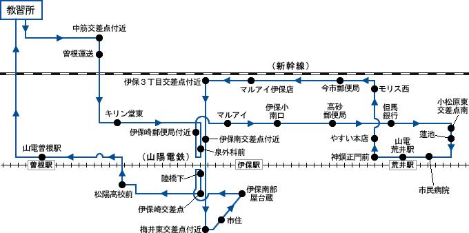 バス 曽根 伊保 2017.8.1